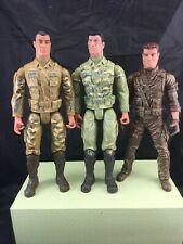 3 X LANARD MILITARY CORPS SOLDIER ACTION FIGURE TOYS. 2013.