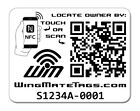 Passive Tracking Smart Stickers by WingMate! Protect your phone, tablet & more!
