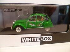 CITROEN 2 CV VERTE de 1987 SAUSSS ENTE : WHITE BOX ~  NEUF