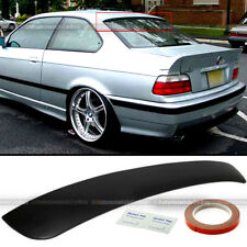 Fit 92-98 BMW 3 Series E36 2DR Unpaited Rear Window Roof Wing Spoiler Visor