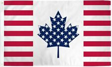 """New listing """"Usa Canada Friendship"""" 3x5 ft flag polyester Us Can"""