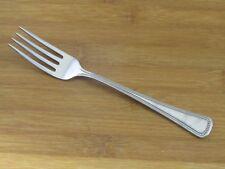 """Oneida Needlepoint Beaded Artistry Dinner Fork 7 1/4"""" 1881 Rogers Stainless"""