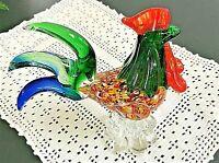 Murano Art Glass Rooster Very Beautiful