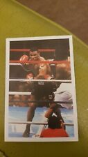 1986 Mike Tyson Question Of Sport Rookie Card