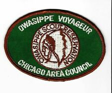 BOY SCOUT  OWASIPPE S.R.  GREEN VOYAGEUR PP  CHICAGO A.C.