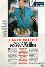 Coupure de presse Clipping 1989 (1 page 4/2) Jean Pierre Coffe