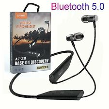 Wireless Bluetooth 5.0 Headphones Headset Stereo Earphone For IOS Android Phone