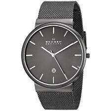 Skagen Stainless Steel Band Men's Casual Wristwatches