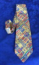 MOSCHINO Cravatta Italia Bellissima Man TIE Rare