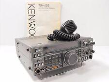 Kenwood TS-440S 160 - 10 M SSB/CW/FM/AM/FSK Transceiver w/ Orig Manual, Mic, ATU