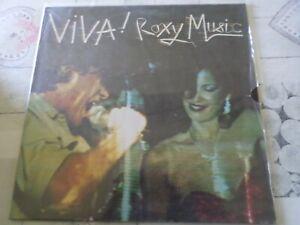 "33 Tours ROXY MUSIC ""Viva"""