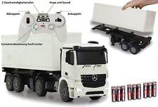 RC Container LKW - Ferngesteuerter Truck - Mercedes Arocs - 59cm inkl. Batterien