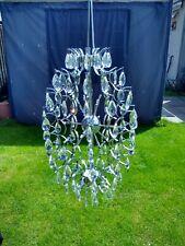 """Large 25"""" X 15"""" SPUTNIK Crystal Glass Chandelier Light"""