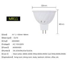 GU10 MR16 3W/4W/5W/6W/7W LED Spotlight Cool/Warm White Bulbs 12V/110V/220V Lamps