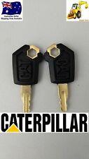 2 x Caterpillar Equipment Excavator Plant Keys 5P8500  Set of 2 FREE POSTAGE