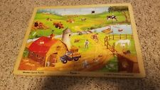 Wooden Jigsaw Puzzle Farm Lights Camera Int 24 pieces