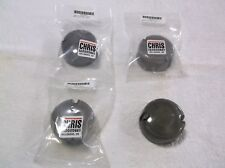 HARLEY DAVIDSON 4 SMOKED TURN SIGNALS LENSES FITS 1987 - 2001 MODELS ( NEW )