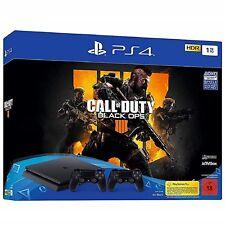 SONY PlayStation 4 1TB + Call of Duty: Black Ops 4 + 2.Controller *NEU&OVP*