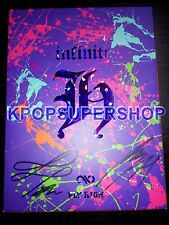 Infinite H Mini Album Vol. 1 - Fly High Autographed Signed Promo CD Infinitize