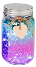 LED Firefly Two Tone Mercury Jar Fairy Light Jar - 6 colours