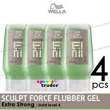 Wella 125ml Sculpt Force Flubber 4pcs Extra Strong Gel