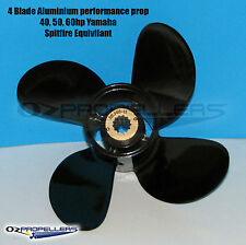 YAMAHA 4 Blade 10 3/8 x 13 Propeller 40-50-60HP Performance Aluminium Prop
