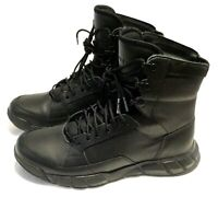 Oakley Men's Light Assault Boots Size 10 Black Nappa Leather Hiking Tactical