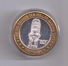 "Tropicana ""Naked Lady"" Las Vegas $10 Casino Token .999 Fine Silver"
