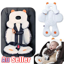 Newborn Baby Head Mat Stroller Body Car Seat Cushion Pad Liner Support Pillow