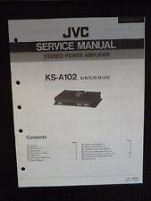Original Service Manual JVC ks-a102