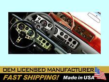 1970 1971 1972 Formula & Firebird Woodgrain Dash Instrument Bezel Overlay Decal