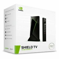 NVIDIA SHIELD Android TV Pro 4K HDR Streaming Media Player; High Performance, Do