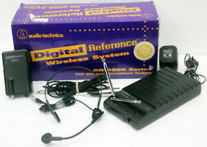Audio-Technica Digital Reference DR-R3 & DR-T100 Transmitter Wireless Microphone