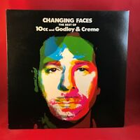 GODLEY & CREME Changing Faces The Best Of Vinyl LP  EXCELLENT CONDITION 10cc CRY