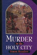 Murder in the Holy City-Simon Beaufort-1st Ed./DJ-1st Geoffrey Mappestone-1998