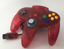 Official Genuine Nintendo 64 N64 Watermelon Red Controller Original Stick 9/10