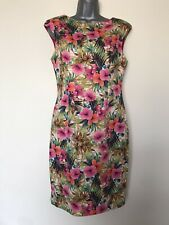 BNWT ZARA Floral Shift Dress - Size L ( UK 12/14 ) - RRP £ 39.99