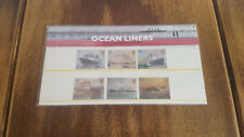 Ocean Liners - Royal Mail Mint Stamps - Presentation Pack - 2004