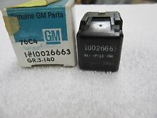 NOS 1988-1996 Buick Chevrolet Olds Pontiac Blower Motor Relay Switch 1002663 dp