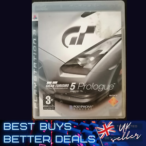 Gran Turismo 5 GT Prologue PS3 Playstation 3 Game TESTED VGC