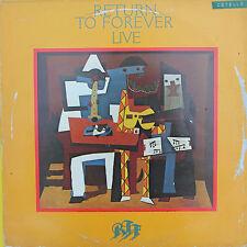 "Vinyle 33T Return to Forever  ""Live"""