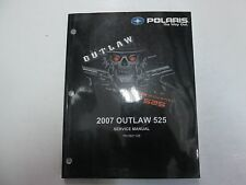 2007 Polaris Outlaw 525 Service Repair Shop Workshop Manual FACTORY NEW