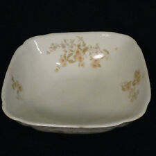 Serving Bowl Henry Alcock Semiporcelain Daisy 9 inch Square Ironstone Antique