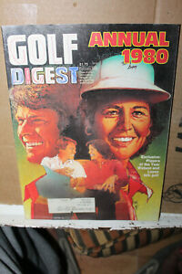 February 1980 Golf Digest Annual Tom Watson Nancy Lopez Players of the Year Rare