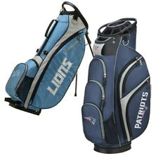 New Wilson Staff Nfl Golf Bag Nfc & Afc - Pick your Team! Cart or Stand!