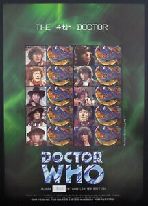 GB SMILERS The 4th Doctor Who 988/1000 BC028 Ltd Ed at £8.50 Face Value DF844