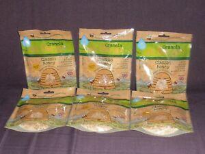 6 x packets of Shropshire Granola on the go classic honey: Gluten free, No GMO..