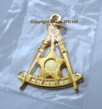 ZP376 Freemason Jewel Pendant Masonic Ornate Square Compass