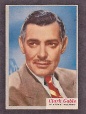 1953 Clark Gable Card #39 Who-Z-All-Star set MGM's Mogambo
