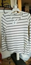Paper Crane thermal striped shirt size Small